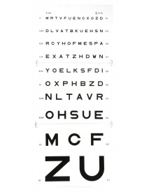 Lámina visual Monoyer