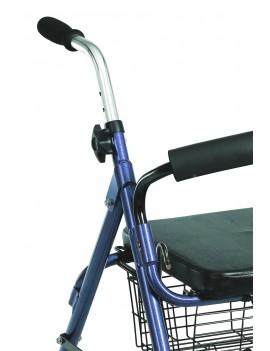 Andador Aluminio Azul