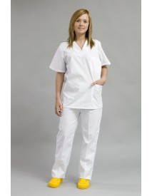 Pijama Médico Unisex Completo