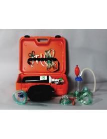 Oxigeno maleta resucitación